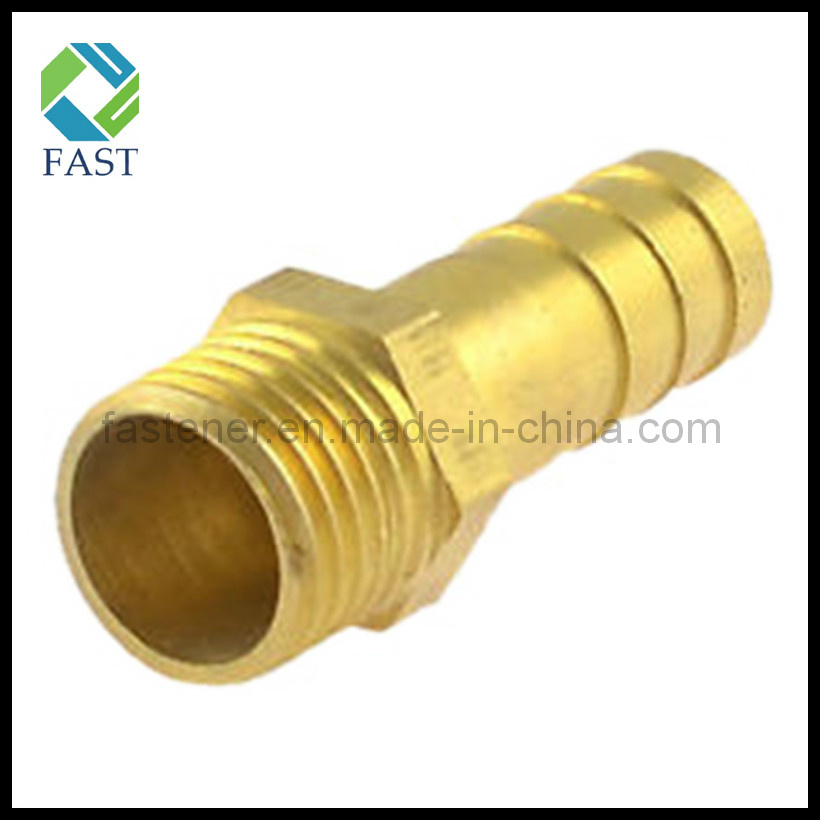 China Male Thread Air Gas Hose Brass Barb Fitting Adapter Coupler