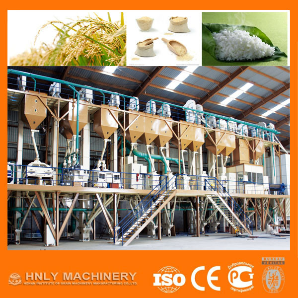 15-500t/24h Rice Milling Machine/Flour Mill