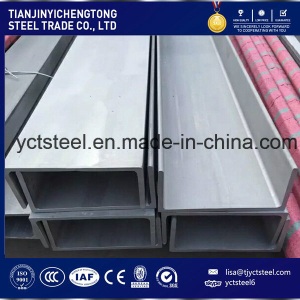 Stainless Steel Channel Steel AISI304 U Channel
