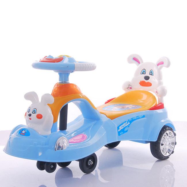 Cheap Kids Swing Car Plasma Car with Big Plastic Seat Wholesale
