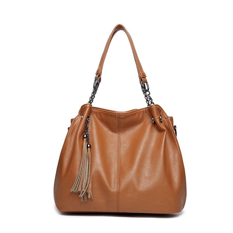 2017 Hot Sale Ladies Fashion Women Shoulder Imitation Leather Hand Bags (94081)
