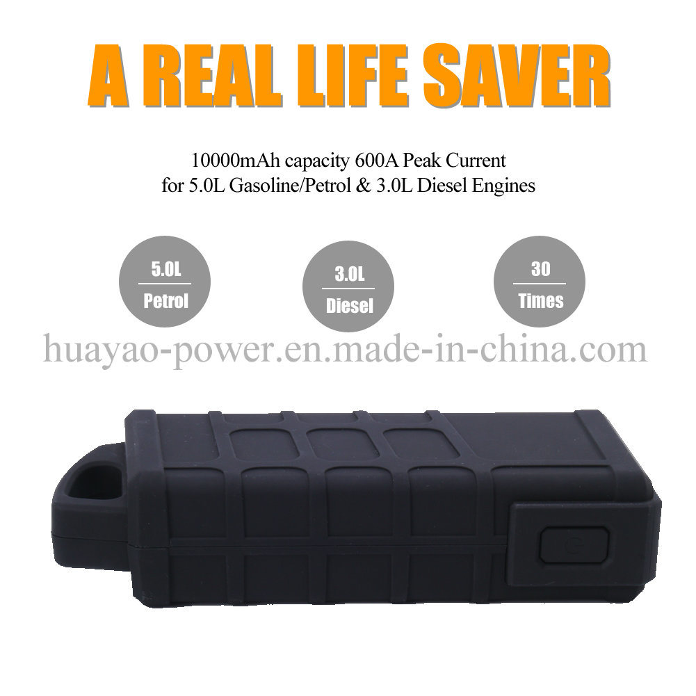 Portable Car Jump Starter Mini Battery Booster 10000mAh