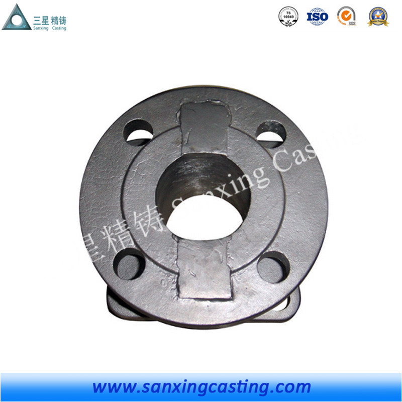 Resin Sand Casting Butterfly Valve Body Part