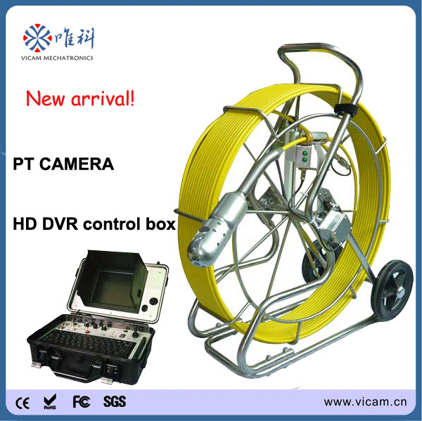 Pan Tilt Camera for Pipe Inspection with 512Hz Transmitter