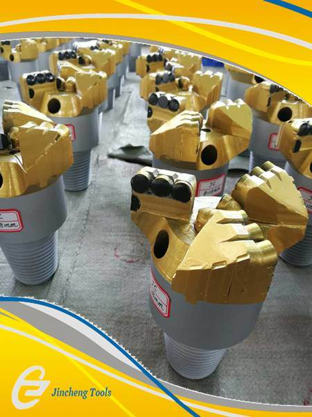 3-Wings PDC Core Mining Drill Bits