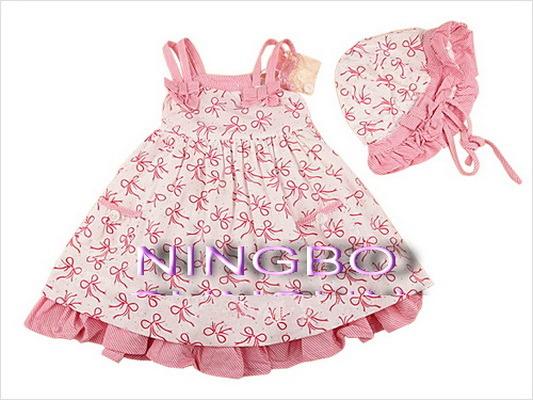 China 2013 fashion girl baby dress china baby clothing girl clothes