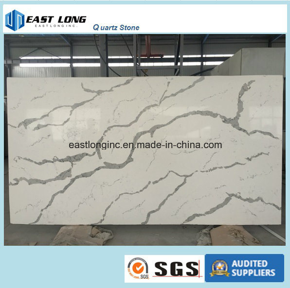 Calacatta Types Engineered Stone for Solid Surface/ Building Material/ Kitchen Countertop/ Vanity Top