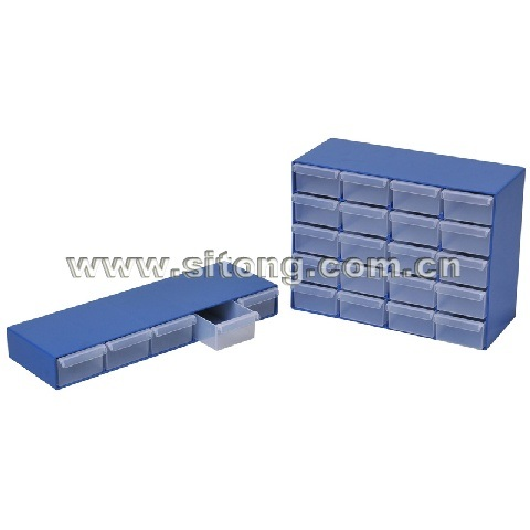 12-Gird Plastic Tool Box Together (SL-07, 08)