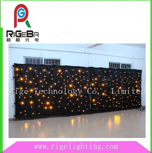 LED Star Curtain Cloth
