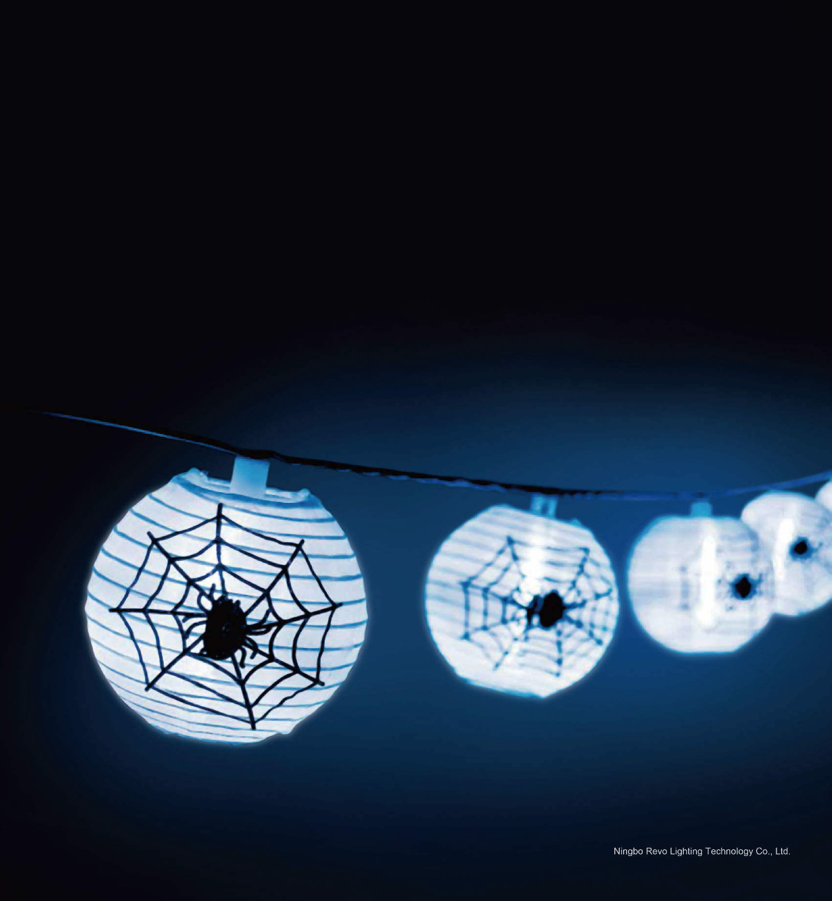 Solar 10LED Chinese Lantern Garden String Lights (RS1012)