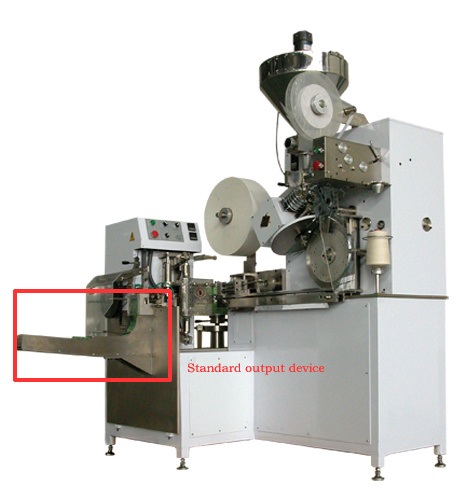 High Speed Tea Bag Packing Machine with Paper /P. E Evnelope Materials Envelope