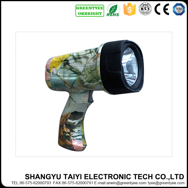 Professional Manufacturer Rechargeable LED Handheld Spotlight