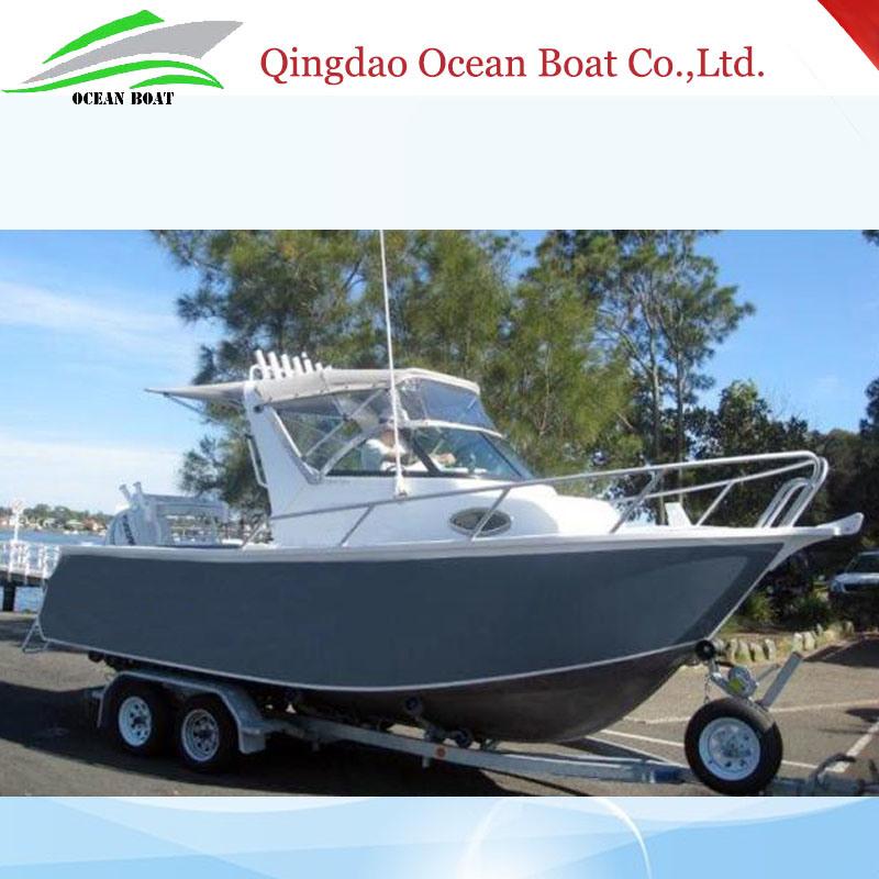 6.25m 21FT Australian Standard Outboard Motor Speed Fishing Yacht