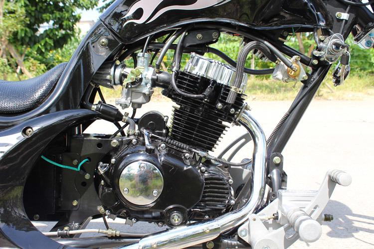 USA Style 150cc 250cc Racing Motorcycle Chopper Bobber Street Bike (JL250P)