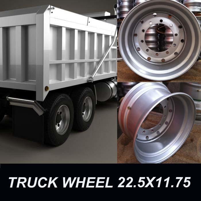 Steel Wheel 22.5X11.75
