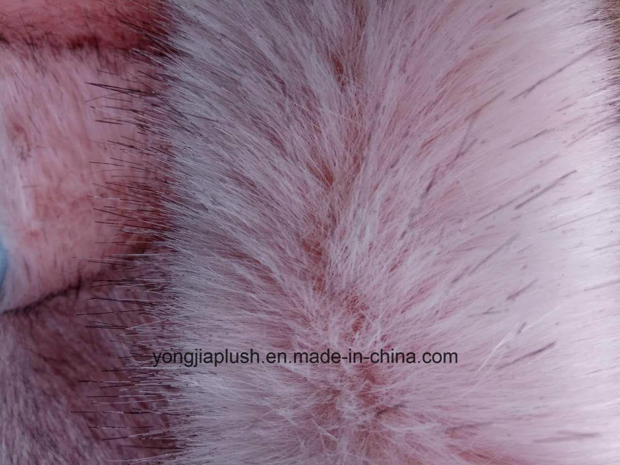 Gouache Dyeing Tip Faux Fur