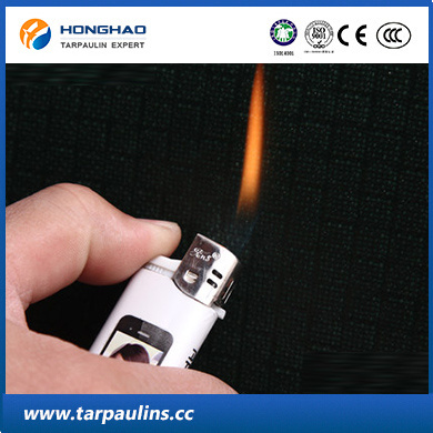 High Strength Fiber Fireproof PVC Coated Fabric Tarp Tent
