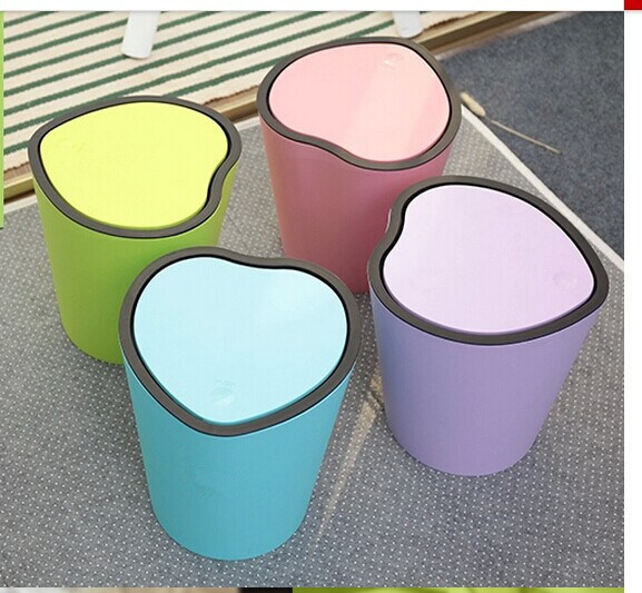 Heat Shape Plastic Household Waste Bin