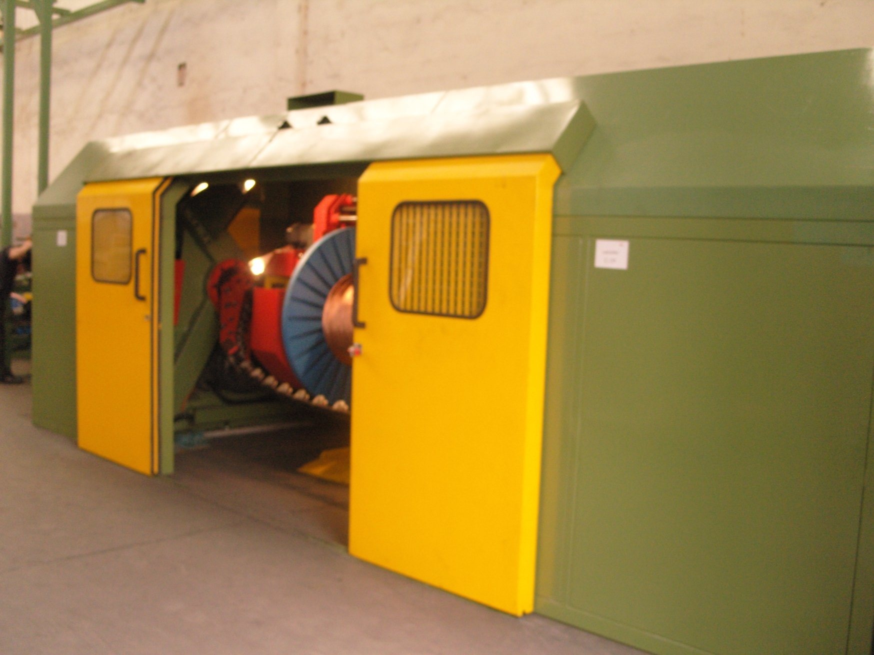 Double Twist Cable Stranding Machine for Wire Production Line