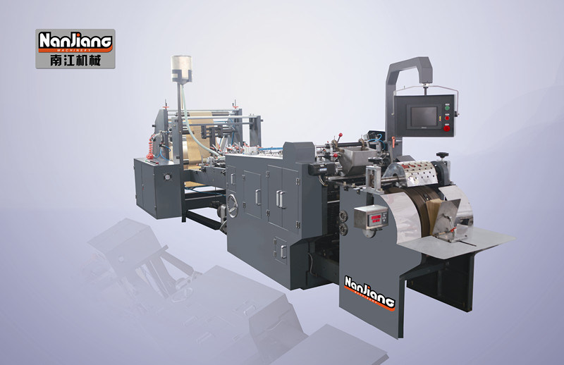 Block Bottom /Sos/ Paper Bag Making Machine