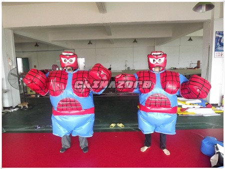 Woo! Amazing Design Popular Super Hero Sumo Suit for Sale