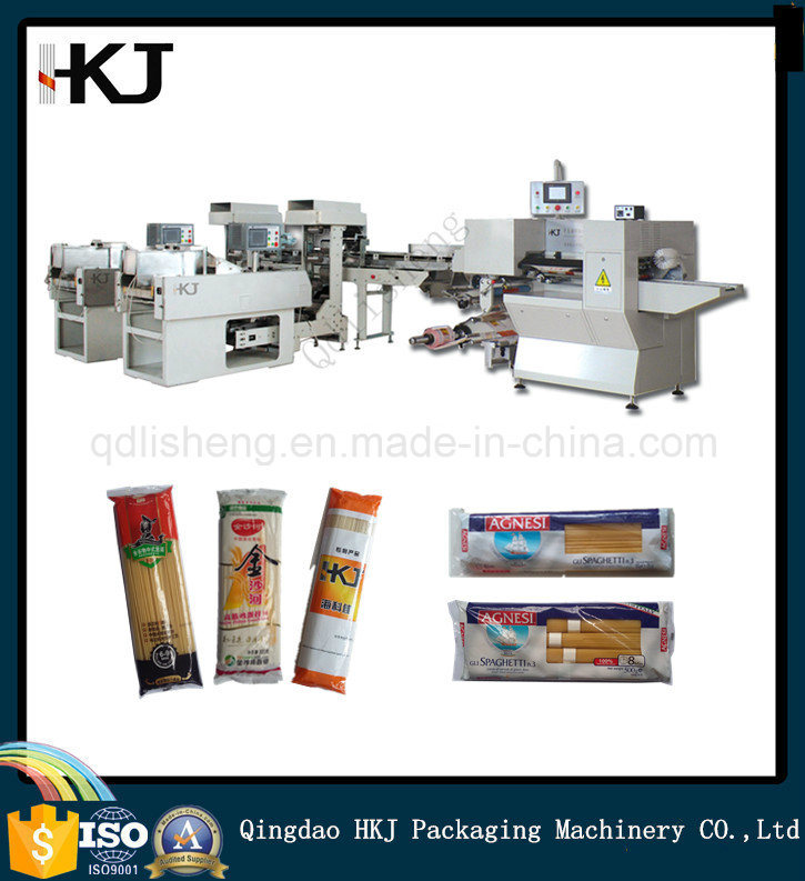 Automatic Spaghetti Pasta Noodle Weighing Packing Machine with Two Weighers