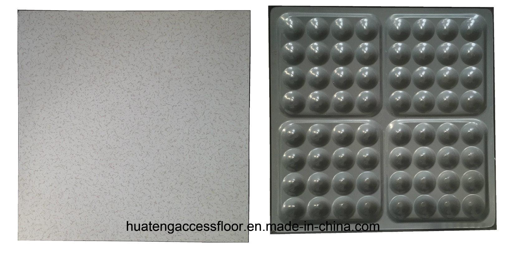 "600*600*35mm Raised Access Floor with HPL Finish (""F"" Edge Trim)"