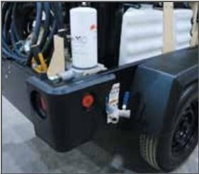 Ingersoll Rand /Doosan Diesel Drive Portable Screw Air Compressor, Portable Air Compressor (C185)