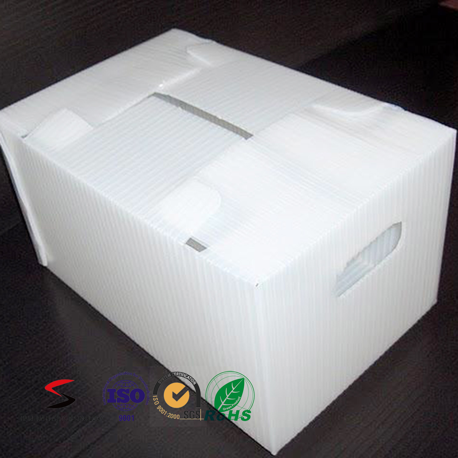 Twinwall PP Box Plastic Carton PP Fruit Box Recyclable Polypropylene Corflute Fruit Box Folding Box