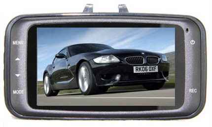 Full HD 1920*1080 (1080P) Car DVR Black Box Camera, GPS Optional, X8001