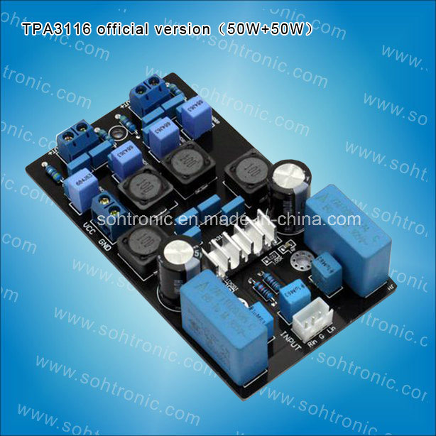 Tpa3116 Official Version (foreign circuit) Amplifier Board 50W+50 Amplifier Module