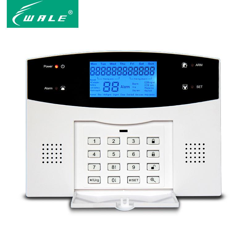 SMS Wireless PSTN GSM Alarm System with APP Control