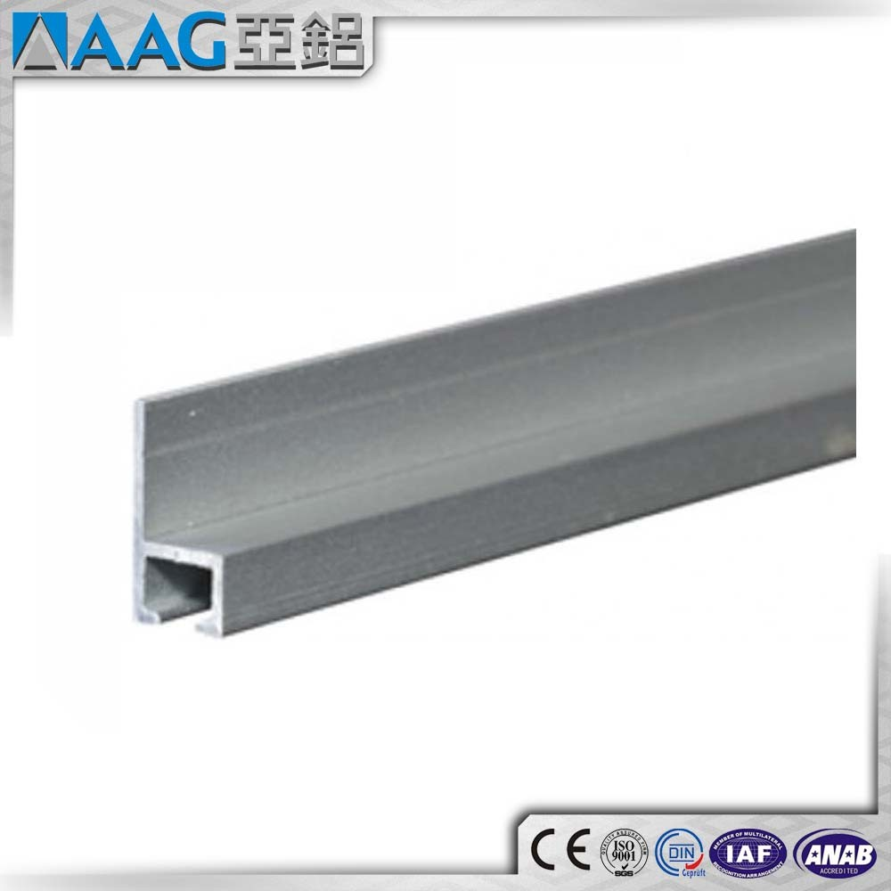 Solar Panel Frame Aluminum Extrusions