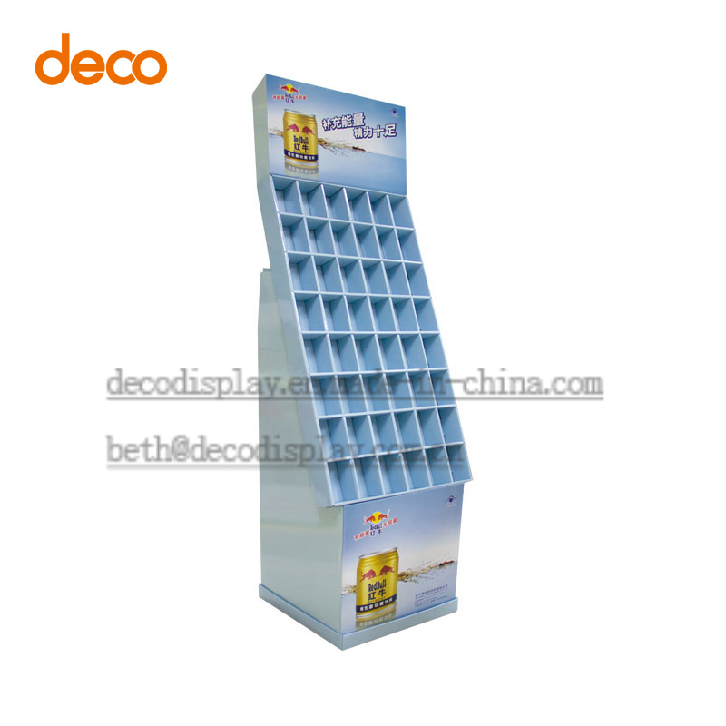 Cardboard Display Shelf Paper Display Stand for Surpermarket Promotion