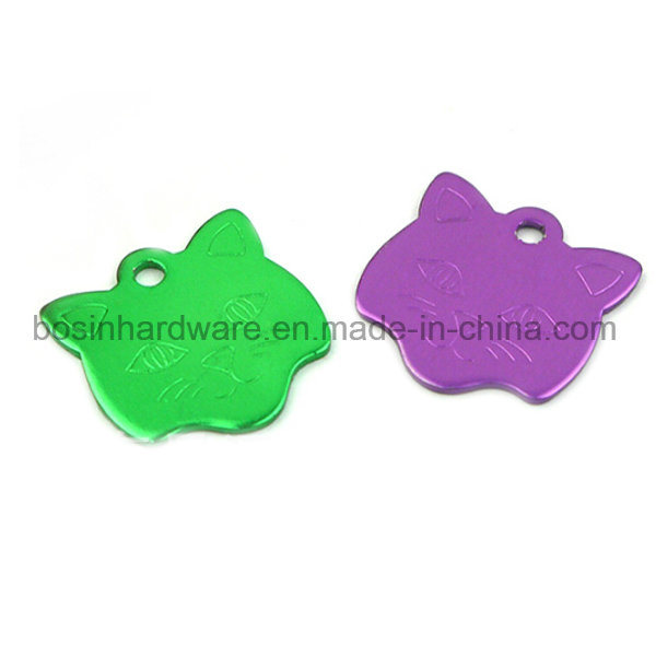 Colored Metal Aluminum Alloy Dog Tag