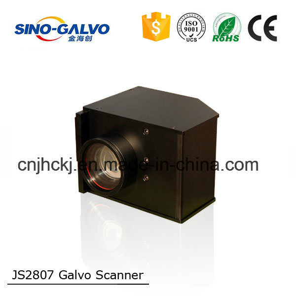 Ce Approved High Accurate Analog Js2807 Galvo Head for Barcode Marking