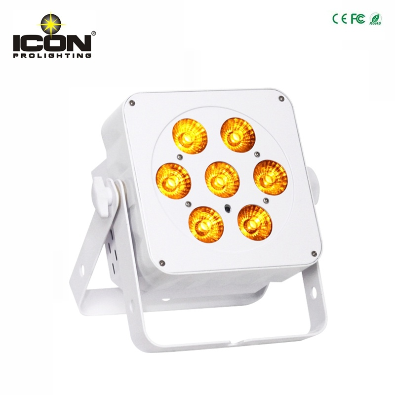 New 7X 15watt Wash LED Flat PAR Light for Wedding Lighting