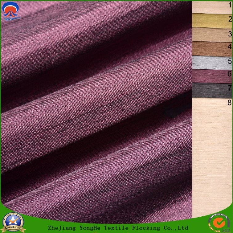 Textile Woven Polyester Fabric Waterproof Waterproof Coated Blackout Curtain Fabric for Window Curtain