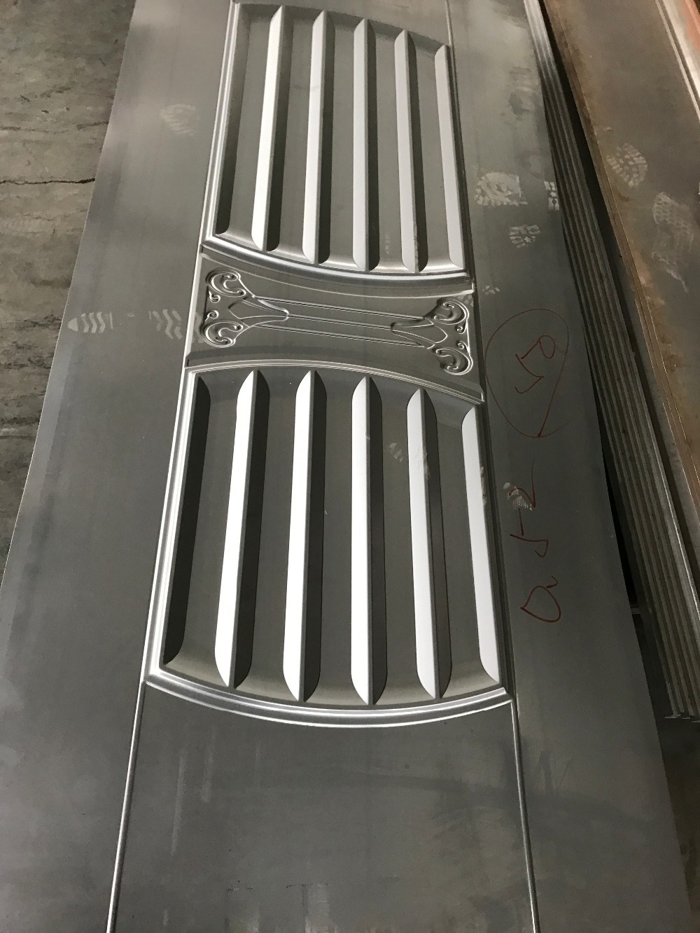 Exterior Sales Well Steel Metal Door Skin