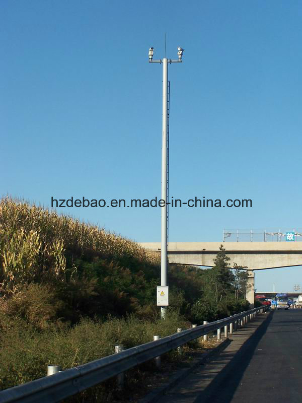 Steel Structure Traffic Camera Pole