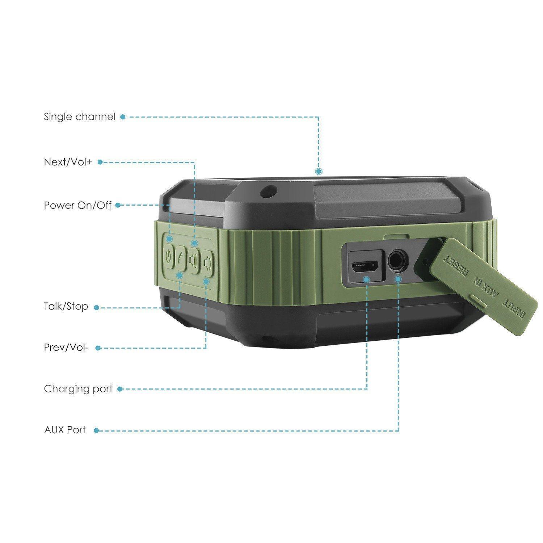 Factory Wholesale Price Mini Portable Bluetooth Wireless Speaker