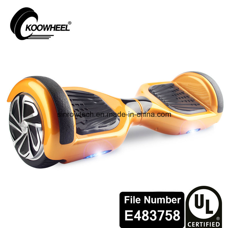 Safe UL2272 Certificated 2 Wheel Self Balancing Scooter Electric Hoverboard for Adults Personal Transporter