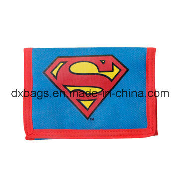 Kid′s Wallet Bags, Super Hero Sign Printed, with Cheap Factory Price for Promotional Audited Factory