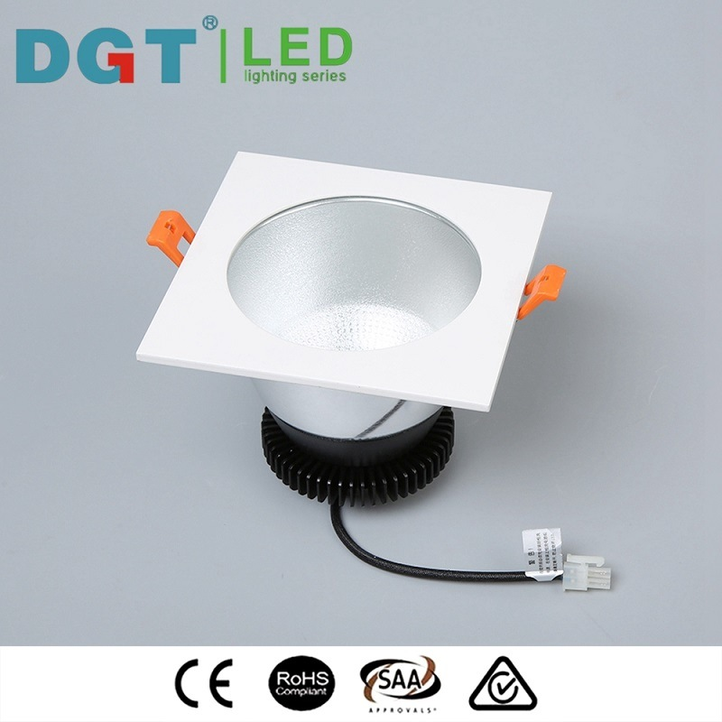 Dimmable 50W Recessed LED Ceiling Light LED COB Downlight