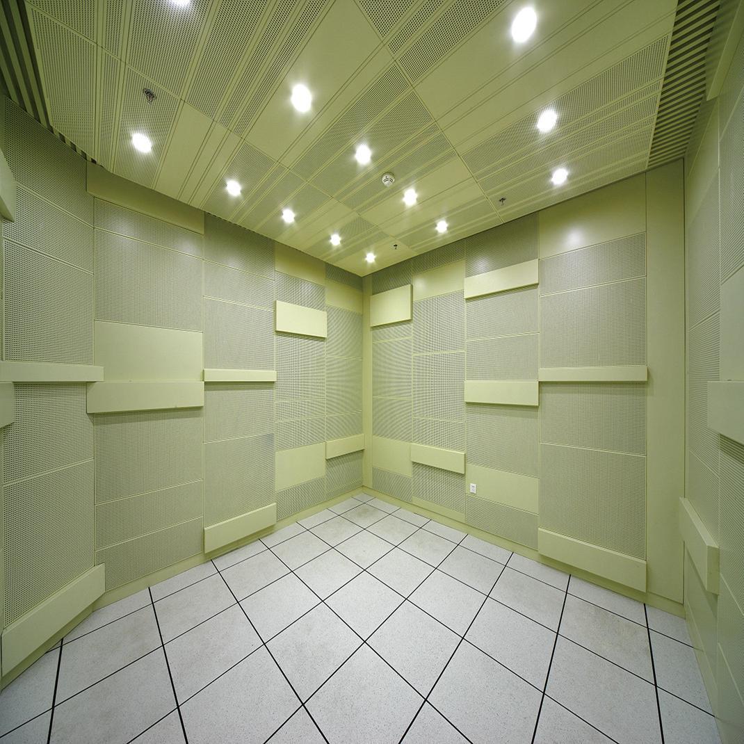 Acoustic Aluminum Perforated Ceiling
