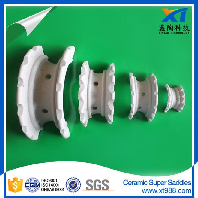 Ceramic Super Intalox Saddle Ring for Drying Tower