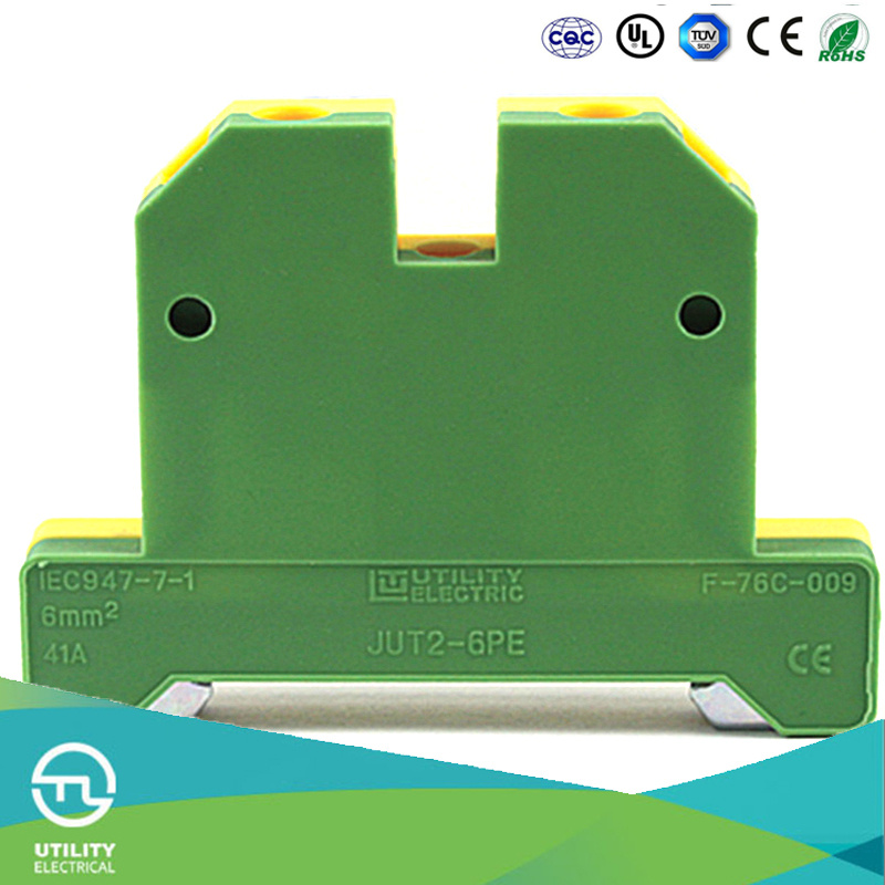 Ground Screw Terminal Block Jut2-6PE Weidmuller Connector