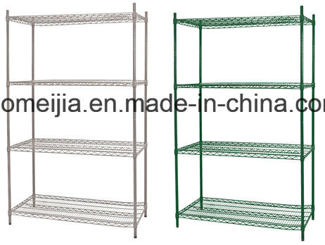Green Epoxy Wire Shelf