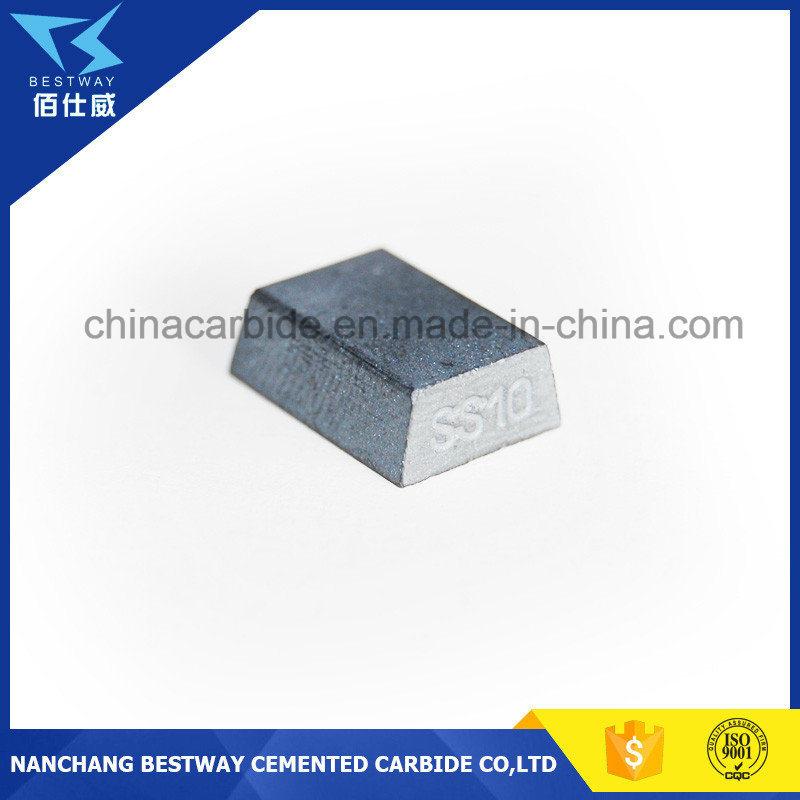 Ss10 Carbide Tips Used for Cutting Limestone, Sandstone, Tufa Stone