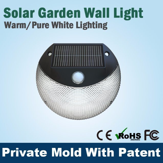 PIR Wall Light LED Solar Emergency Security Outdoor Garden Decoration Light